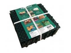 Дорожки для теплиц - модульное покрытие 30х30х1,1 см зеленый (9 шт. в упаковке) [ФМ3926]