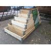 Грядка деревянная KD15, длина 4 м [ФМ3908]