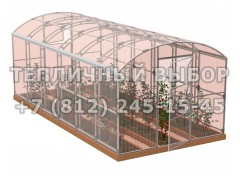 Теплица Весна-6 2Д стандарт Оц100 ПК-4 НАНО [ФМ3883]