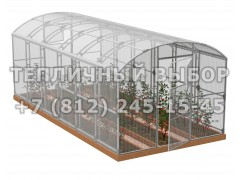 Теплица Весна-6 2Д стандарт Оц100 ПК-4 [ФМ3879]