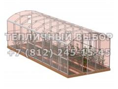Теплица Весна-8 2Д стандарт Оц100 ПК-5 НАНО [ФМ3884]