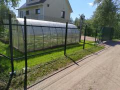 Забор из сетки гиттер (3Д сетка), цена за 1 погонный метр [ФМ4372]