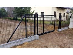 Откатные ворота из гиттера 1.8*3 м [ФМ4382]