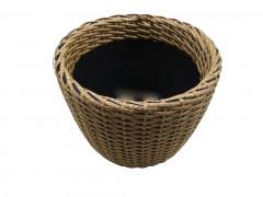 Плетеное кашпо 16 литров [ФМ4596]