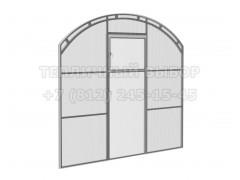 Перегородка с дверью для теплицы Весна 2Д стандарт Оц ПК [ФМ4671]