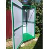 Душевая кабина Лето (Зеленая), бак 120л с подогревом, с обшивкой [ФМ4286]