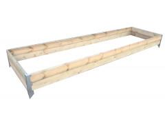 Грядка деревянная KD15, длина 2 м [ФМ3907]