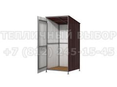 Дачный туалет (каркас, пол, обшивка) [ФМ2171]