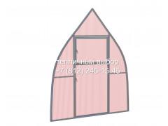 Перегородка с дверью для теплицы Фазенда оптима Купол Оц ПК ФИТО [ФМ5165]