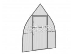 Перегородка с дверью для теплицы Фазенда оптима Купол Оц ПК [ФМ4666]