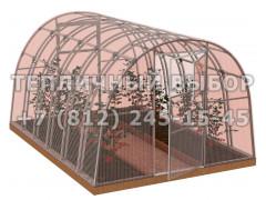 Теплица Агроном-4 2Д стандарт Оц65 ПК-3 НАНО [ФМ3870]