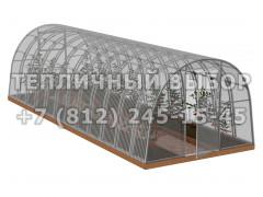 Теплица Агроном-8 2Д стандарт Оц65 ПК-5 [ФМ3868]