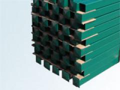 Столб 40 х 40мм / 1,5мм / высота - 2,3 м ППК для сетки сварной 3D [ФМ4085]