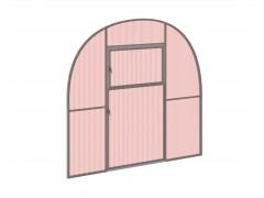 Перегородка с дверью для теплицы Фазенда оптима Оц НАНО [ФМ2732]