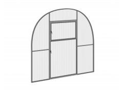 Перегородка с дверью для теплицы Фазенда оптима Оц ПК [ФМ1351]