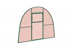 Перегородка с дверью для теплицы Усадьба стандарт Зел НАНО [ФМ2780]