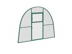 Перегородка с дверью для теплицы Усадьба стандарт Зел ПК [ФМ723]