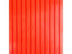 Сотовый поликарбонат (4х2100х6000), красный [ФМ387]