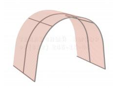 Удлинитель для теплицы Фазенда стандарт Оц100 НАНО [ФМ2976]