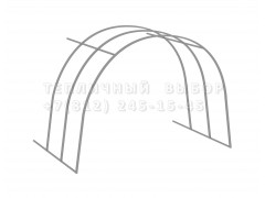 Удлинитель для теплицы Весна стандарт ОЦ65 каркас [ФМ4174]