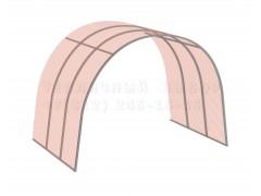 Удлинитель для теплицы Весна стандарт Сер65 НАНО [ФМ2936]
