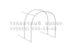 Удлинитель для теплицы Агроном оптима Оц100 каркас [ФМ3192]