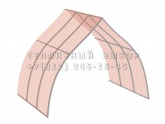 Удлинитель для теплицы Фазенда стандарт Купол Оц65 НАНО [ФМ3161]