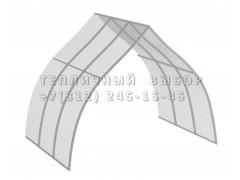 Удлинитель для теплицы Фазенда стандарт Купол Оц65 ПК [ФМ3153]