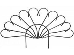 Забор Павлин (5 секций, длина одной секции 1м) [ФМ461]
