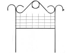 Забор Садово-парковый (5 секций, длина одной секции 0.9м) [ФМ751]